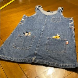 Vintage Disney Jean Mickey unlimited